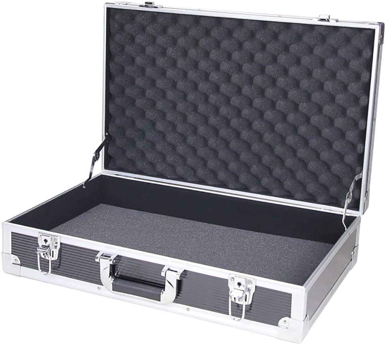 Aktenaufbewahrungskasten, stofester wasserdichter Werkzeugkasten (Aluminiumrahmen) 55  35  14CM (Farbe   A, gre   1)