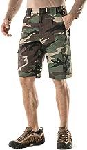 CQR Men's Urban Tactical Lightweight Utiliy EDC Cargo Classic Uniform Shorts