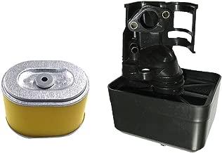 et Orange fivekim Nouveau Remplacement du Filtre /à air adapt/é pour Honda GX160 5.5HP GX200 6.5HP Tondeuse /à Gazon 17210-ZE1-822 Remplacement du Filtre /à air du Moteur /à Essence Argent