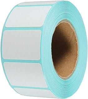 Aobetak Lot de 800 étiquettes autocollantes blanches 60 mm x 30 mm pour bocaux de congélation Imprimantes