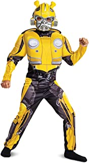 Transformers Bumblebee Movie Classic Bumblebee Muscle Costume for Kids