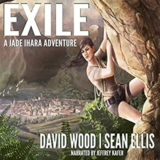 Exile: A Jade Ihara Adventure audiobook cover art