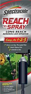 Reach 'n Spray RNS Spectracide, Long Reach Aerosol Can Sprayer, 1-Count, black
