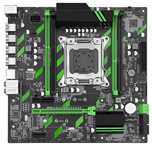 lilili Ajuste para El Conjunto De Placa Base Fit For Huananzhi X79 X79-ZD3 Rev2.0 M.2 Matx con Intel Xeon E5-2689 2.6GHz CPU 2 * 8GB (16GB) DDR3 1600MHz ECC/REG RAM Placa Base
