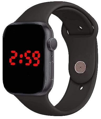 TRON Black Digital led Watch for Boys, Men,Girls Wrist Watches