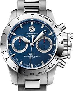 Ball - Bola Ingeniero hidrocarburos magnate Cronógrafo Reloj, acero inoxidable
