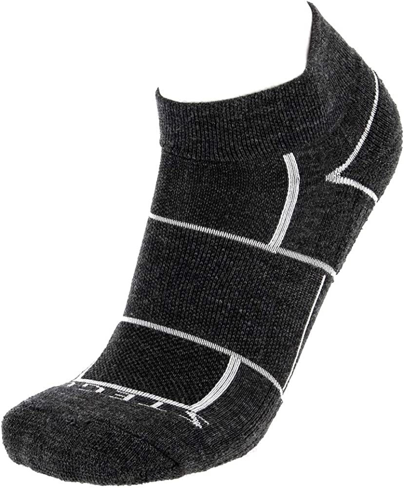 Stego Mens EnduroTec Merino Wool 1//4 Crew Socks