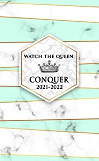 Watch The Queen Conquer 2021-2022: Two Year Monthly Organizer, Pocket Planner & Schedule Agenda - 2 Year Diary & Calendar ...