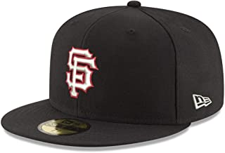 New Era San Francisco Giants MLB Black Red Out 59FIFTY Fitted Hat Cap
