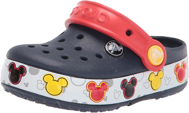 Crocs Unisex-Child Kids' Mickey Mouse Clog | Disney Light Up Shoes