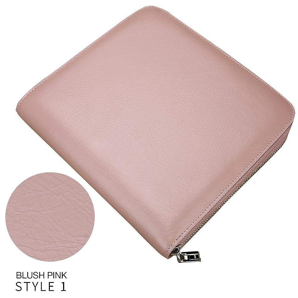 Fenice Scissor Pouch for Hairdressers, Salon Hair Stylist Barber Scissors Shear Hairdressing Holder Case Bag, Blush Pink Style1