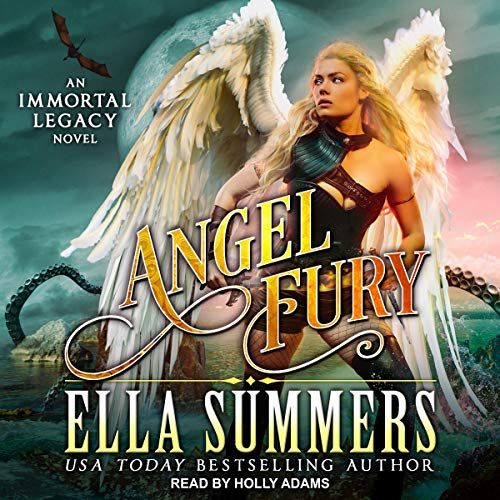 Angel Fury audiobook cover art