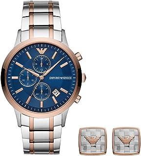 امبوريو ارماني ساعة رسمية رجال كرونوغراف ستانلس ستيل - ar80025