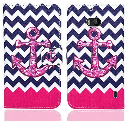 FoneExpert® Nokia Lumia 930 Handy Tasche, Wallet Hülle Flip Cover Hüllen Etui Ledertasche Lederhülle Premium Schutzhülle für Nokia Lumia 930 (Pattern 11)