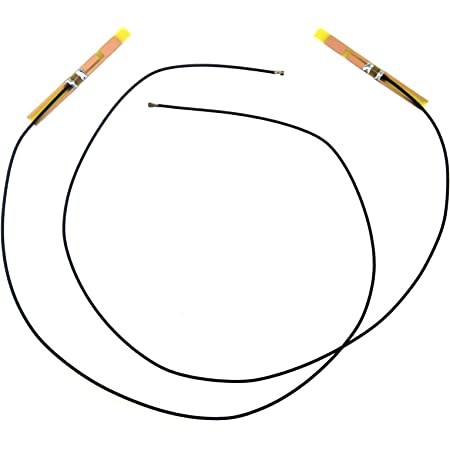 内部 NGFF M.2 アンテナ、ブラック メイン ホワイト オークス ワイヤー
