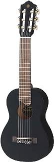 Yamaha GL1 Guitalele – Mini guitarra de madera con las dimensiones de un ukulele, escala de 17 pulgadas, 6 cuerdas de nylon, color Negro