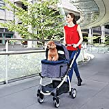 ibiyaya Express Hundebuggy Travel System, denim - 10