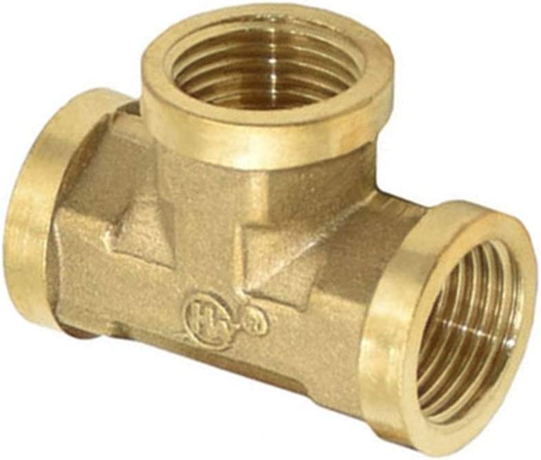 Nuojie Hose Connector Female Thread 1 4 T-Ty Brass 3 Three-Way 2 Challenge the Attention brand lowest price of Japan