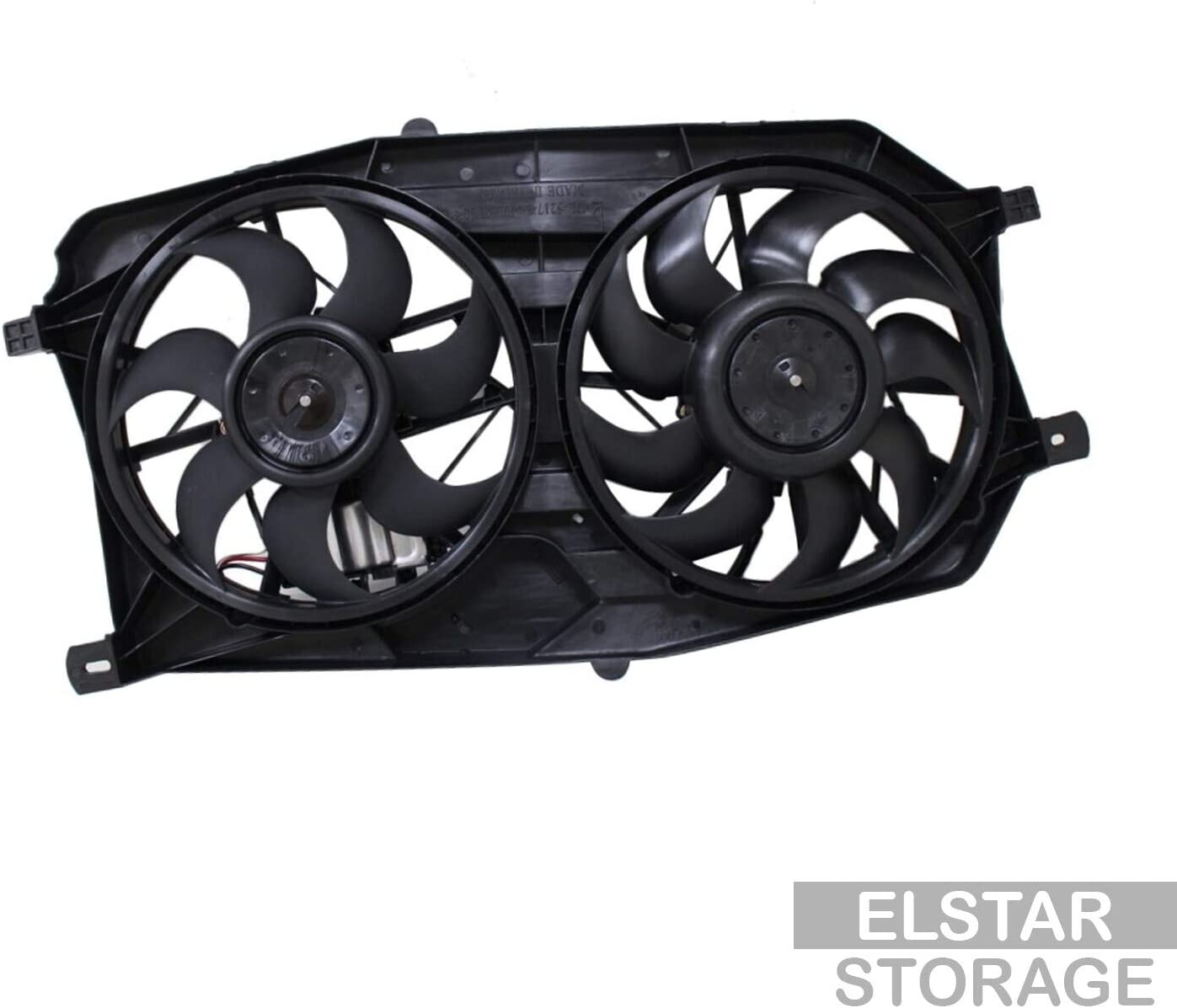 CarPartsDepot New Replacement Parts Front Max 65% OFF C Radiator El Paso Mall Cooling Fan