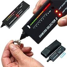 Diamond tester Pr/äzisionswerkzeuge mit LED-Anzeige 2 Arten von professionellen Schmuckpr/üfer Maissanite-Schmucktester
