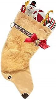 golden retriever stocking
