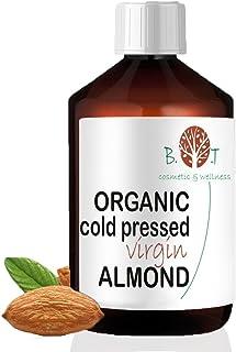 Aceite de Almendras Certificado Ecológico - Prensado en Frío - 100% Puro - 100 ml