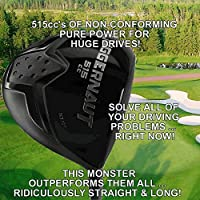 #1 Illegal World's Longest Custom Driver Non-Conforming Banned 515cc Golf Club (Right)