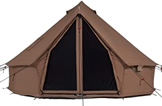 WHITEDUCK Regatta Canvas Bell Tell - w/Stove Jack، Waterproof، 4 Season Luxury Outdoor Camping and Glamping Yurt Tent made from Breathable 100٪ Cotton Canvas