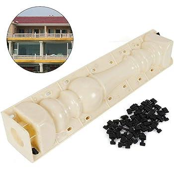 2 Piece//Set Moulds Balustrades Mold for Concrete Plaster Cement Plastic Casting