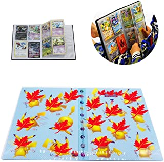 Card Holder Collection Handbook Trading Card Album for Pokemon Holds up to 240 Trading Cards (Pikachu)