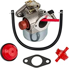 HIFROM Carburetor Carb with Mounting Gasket Fuel Line Primer Blub for Tecumseh Toro Recycler Lawnmowers 20016 20017 20018 6.75 HP Engines