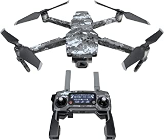 DJI Mavic 贴花套件 - 包括 1 个无人机/电池皮肤 + 控制器皮肤 Digital Urban Camo Mavic 2/Zoom DJIM2-DIGIUCAMO