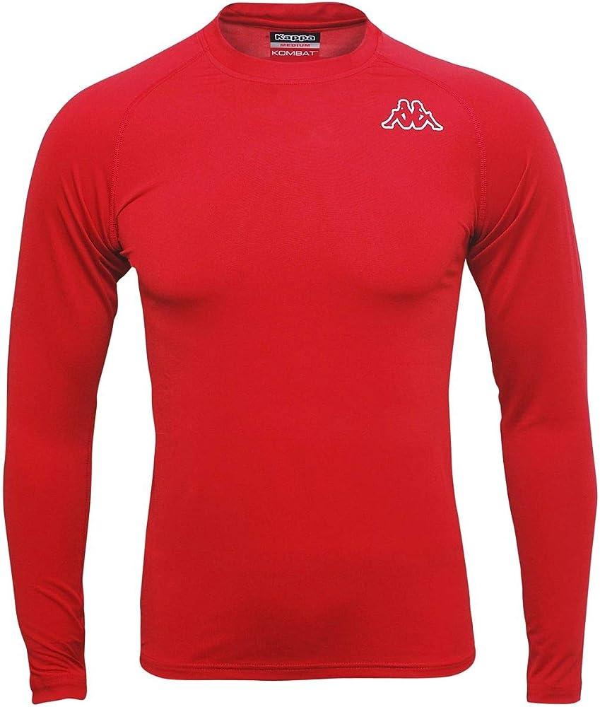 Kappa, maglietta termica maniche lunghe per uomo,95% poliestere, 5% elastan 302BN90 917XS