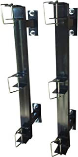 M.G.E. Products Enclosed Landscaping Trimmer Rack for Edgers, Pole Saws, and Tree Trimmers - 3 Slot