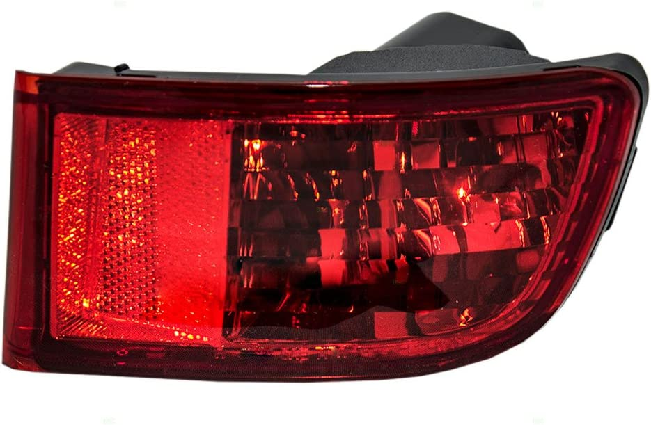 Brock Replacement Don't miss the campaign Passengers Park Signal Reflector Bumper Selling M Rear
