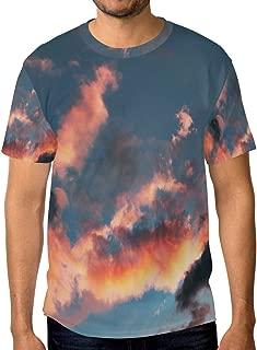 Lovexue Asaka Sky TShirtsforMenTopTeeCrewNeck Casual T-Shirt