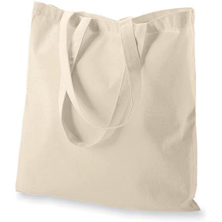 Iron Grey plain unprinted  tote bag colourful  100/% Cotton