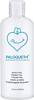 Lube for Women Sex Lube for Men, PALOQUETH Personal Lubricants Water Based Lubricant Paraben-Free Hypoallergenic Non Sticky Long Lasting Natural Feeling Odorless 8 Oz