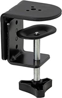 VIVO Black Heavy Duty Desk Clamp for Monitor Mount Stands, Sturdy 4 Inch C-Clamp (Pt-Sd-Cp01A)