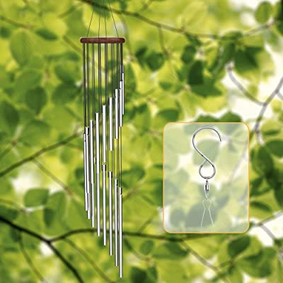 """esonmus Wind Chimes Outdoor Aluminum Chime 35"""" ..."""