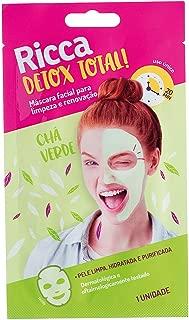Mascara Facial para Limpeza e Renovação, Ricca, Verde