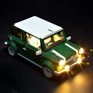 Briksmax Mini Cooper Led Lighting Kit- Compatible with Lego 10242 Building Blocks Model- Not Include The Lego Set