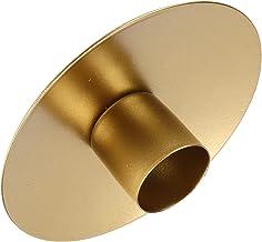 Kandelaarsset, praktische kandelaar Kandelaar voor feest om te dineren voor huisdecoratie voor bruiloft(Gouden tuba)