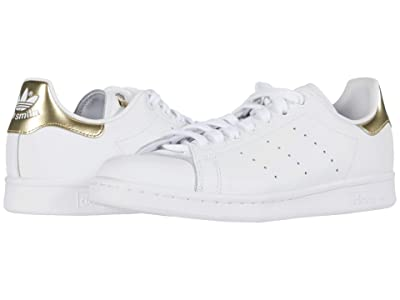 adidas Originals Stan Smith (Footwear White/Footwear White/Gold Metallic) Women