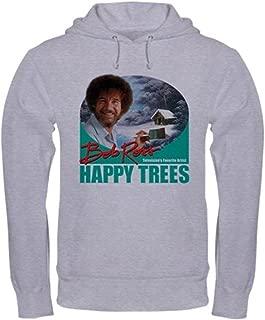 WhiteT_Happytrees_Painthandlegreen Sweatshirt