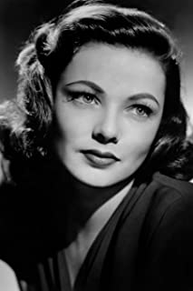 Gene Tierney notebook - amazing classic writing perfect 120 lined pages #1