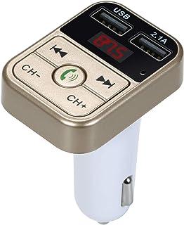 SAIYUAN Car MP3/WAV Music Player BT 5.0 FM Transmitter Wireless Handsfree Au-dio Receiver Dual USB char-gers