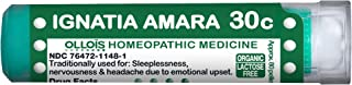 OLLOIS Organic & Lactose-Free, Ignatia Amara 30C Homeopathic Pellets, for Nervousness Due to Emotional Upset