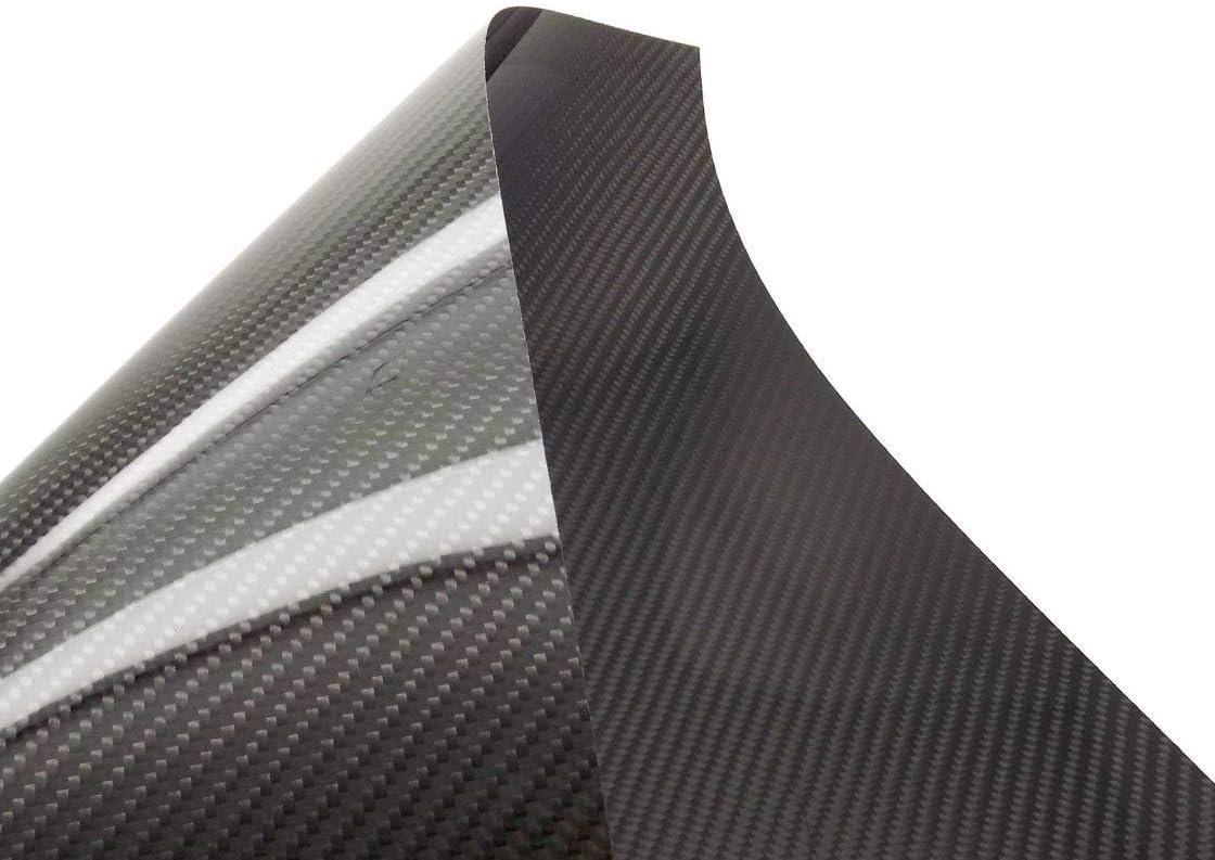 USAQ 500x400x0.3mm Pure 3k Carbon Fiber Veneer Max 46% OFF Sheet Special sale item Panel Twill