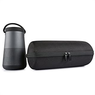 Store2508 Hard EVA Travel Storage Case for Bose Soundlink Revolve + / Revolve Plus - Black